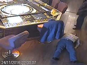 Casino fight ends in a coma and death