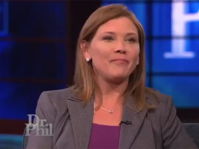 Dr Phil questions guest about her cancer claim