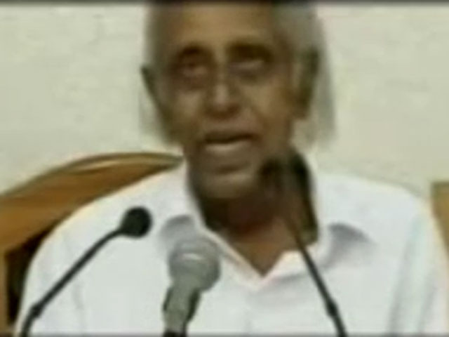 Indian politician has stroke on live tv