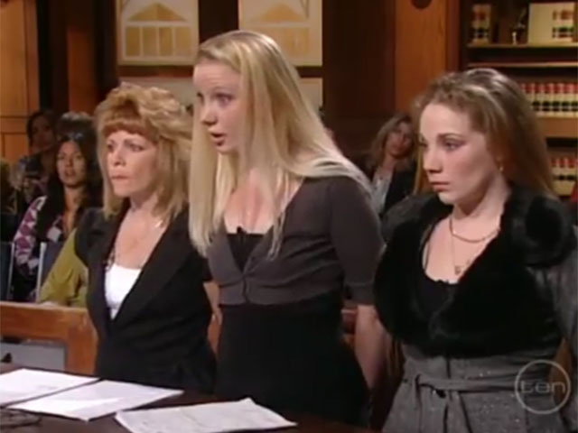 Judge Judy show stupidest girl in the US